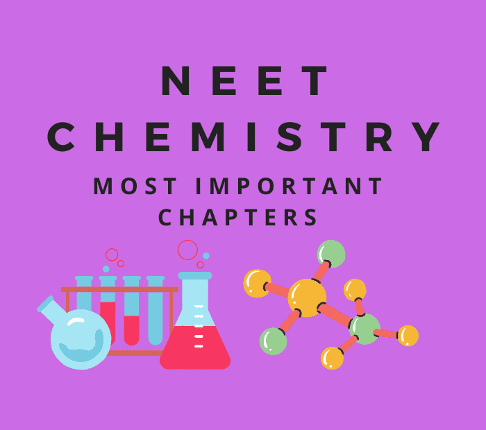 neet chemistry important chapters chapter wise weightage