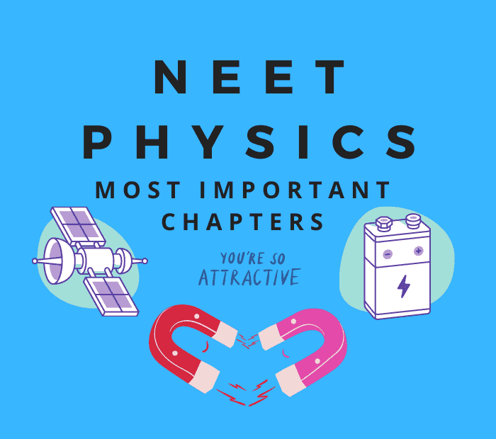 neet physics important chapters and topics